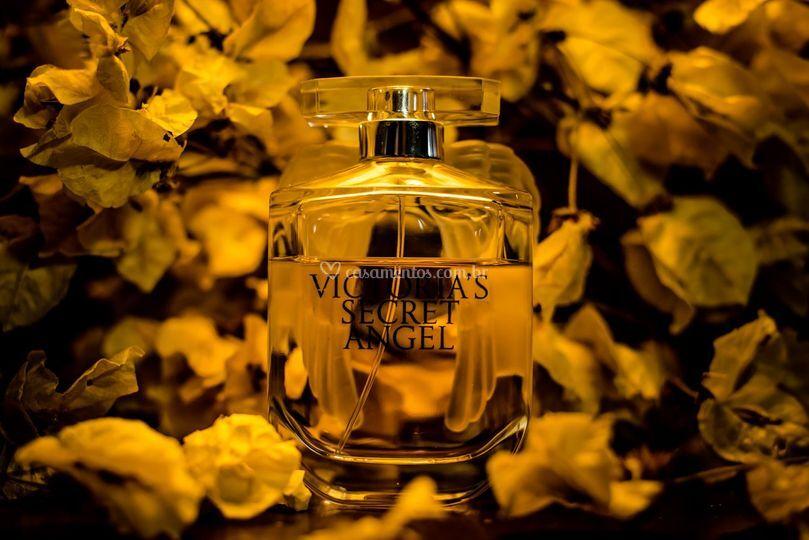 Detalhe do perfume noiva
