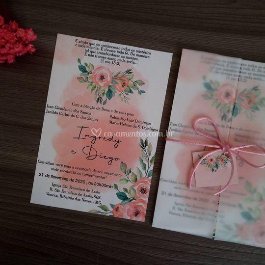 Convite romântico