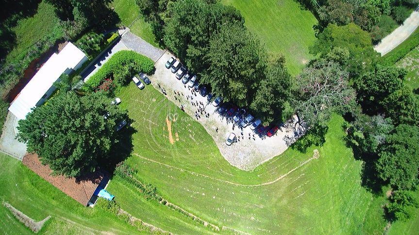 Imagem do drone Sítio Migala