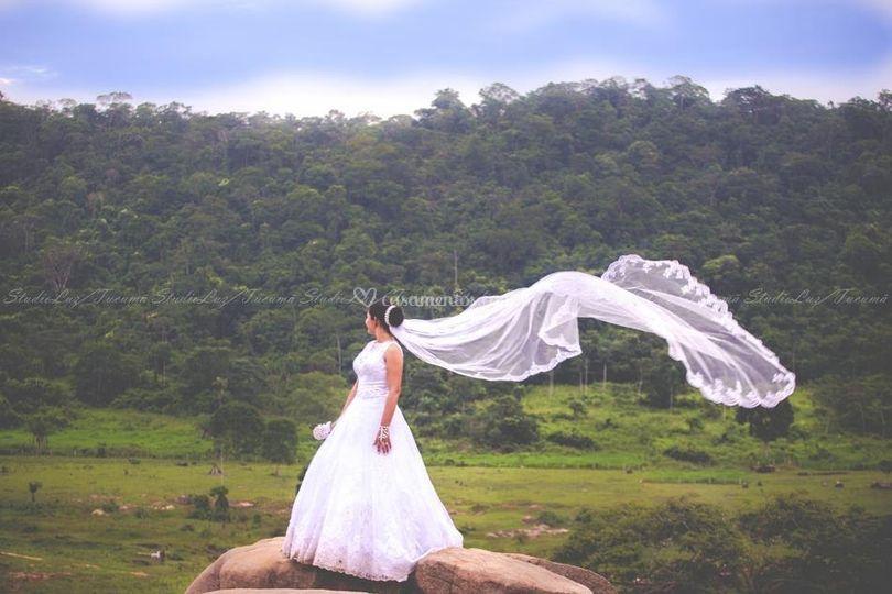 Noiva e a natureza
