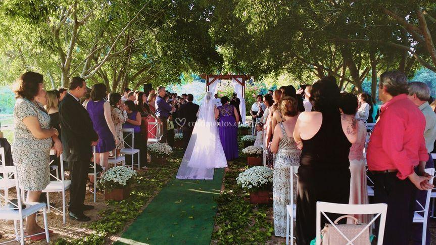 Sonho de toda noiva!