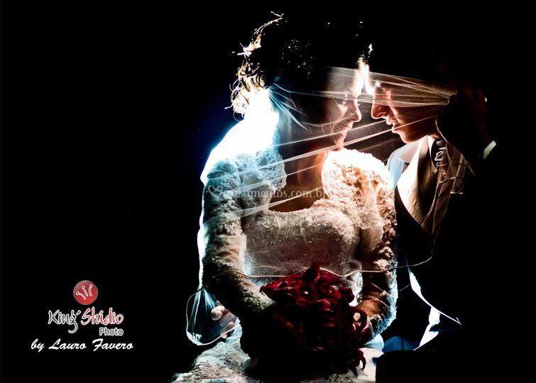 Foto artística no casamento