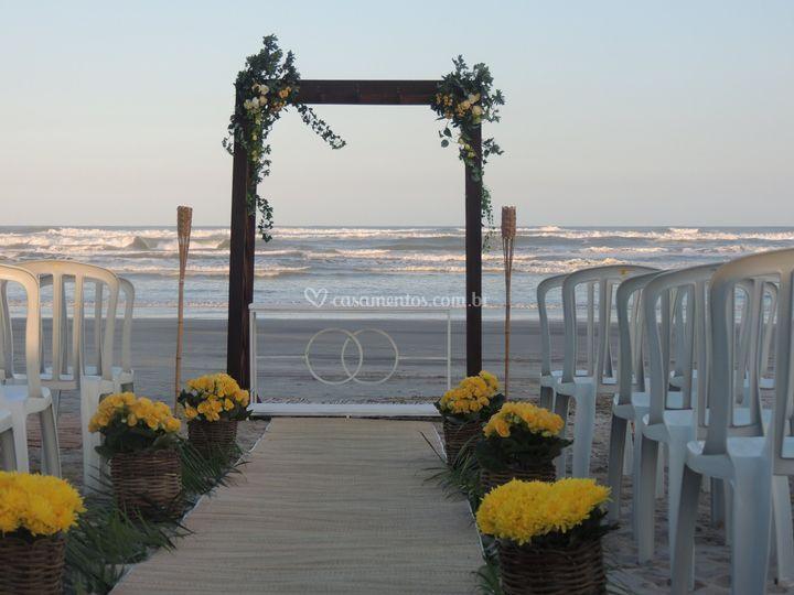 Cerimonia Praia prox. Buffet