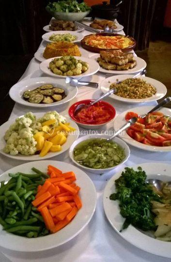 Variedade de legumes