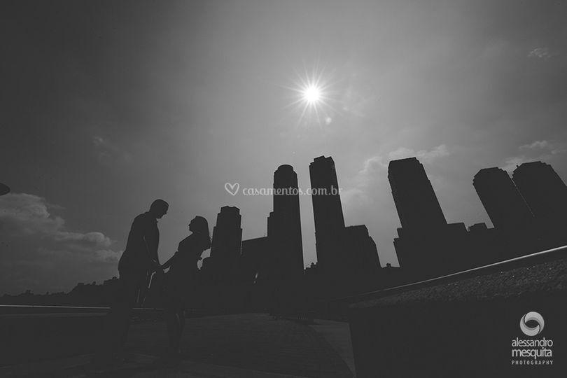 Sessão de Casal em New York