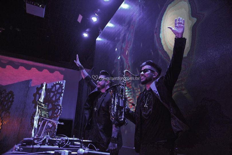 Yex Live - DJ e Saxofone