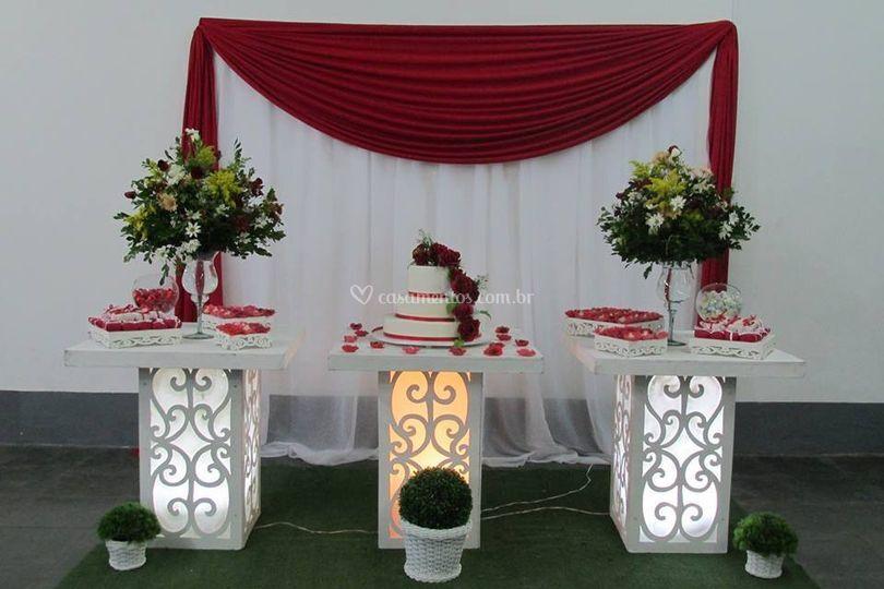 Mesa de bolo provençal