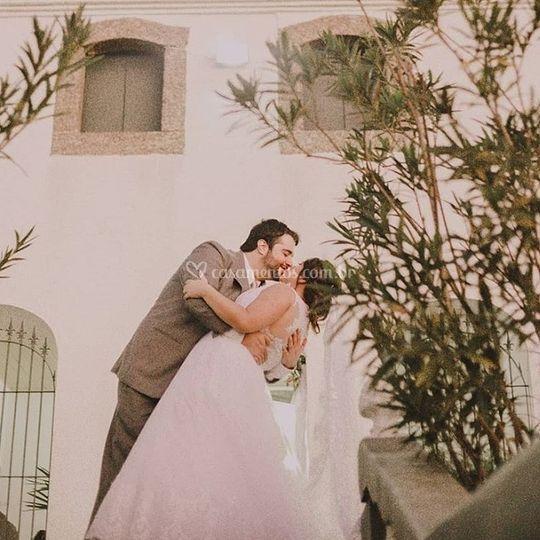 Noivos Laila e Rafael