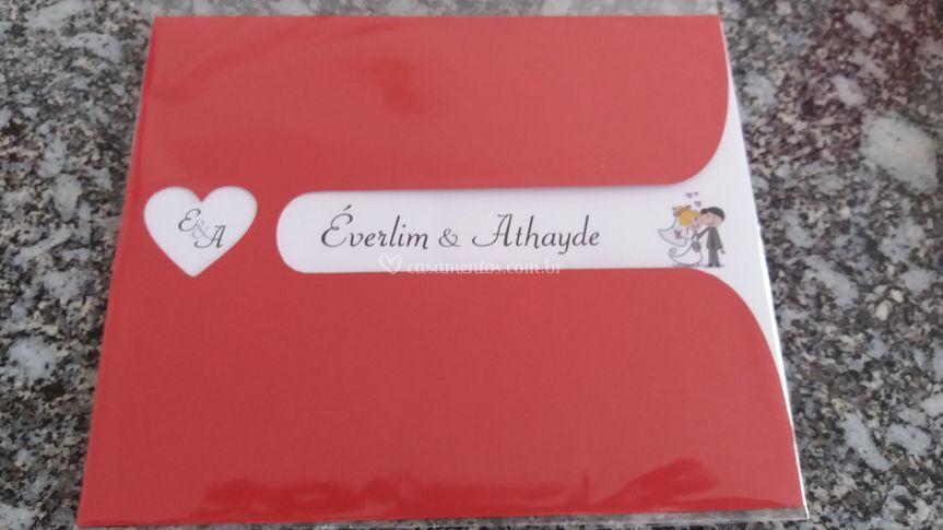 Convite Evelyn
