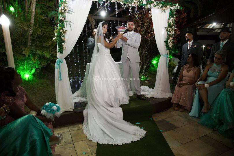 Cerimônia Michele e Peterson