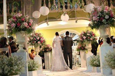 Casamento área externa
