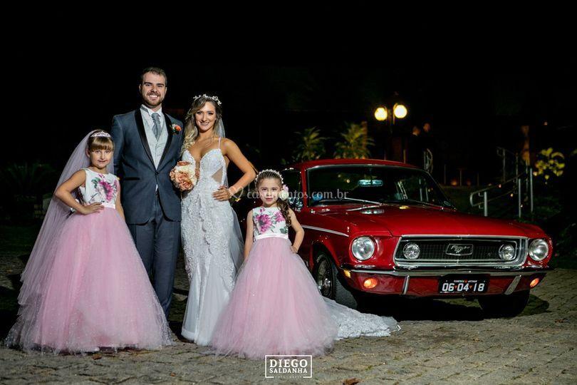 Minha formanda casou