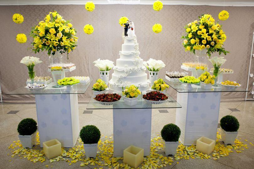 Messa de bolo de Espa�o Lumier