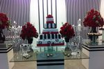Mesa do bolo de Espa�o Lumier
