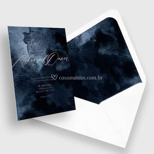 Convite e envelope especial
