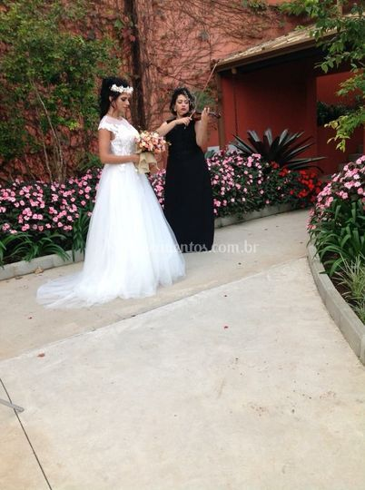 Violinista e noiva