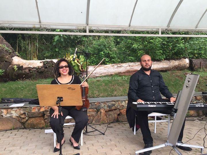 Formação dois músicos