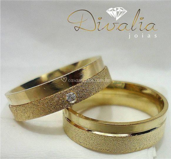 Alianças noivado/casamento