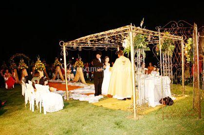Celebra��o de eventos de Ch�cara do Jovane