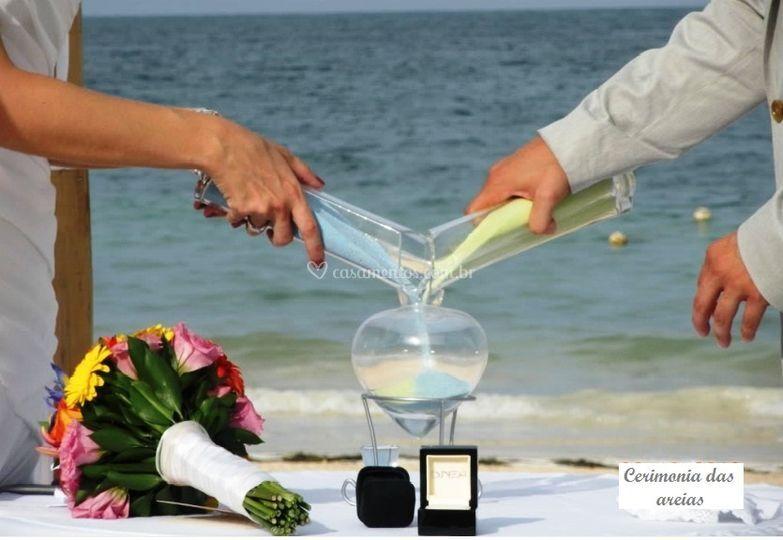 Cerimônia das areias