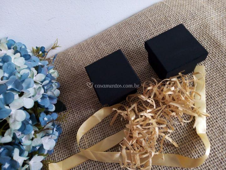 Caixa convidados cor preto