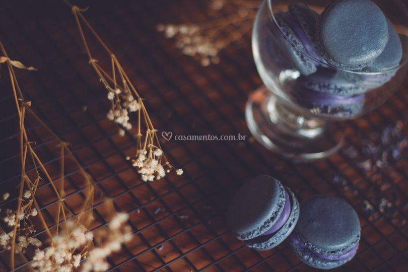 Macarons de Lavanda
