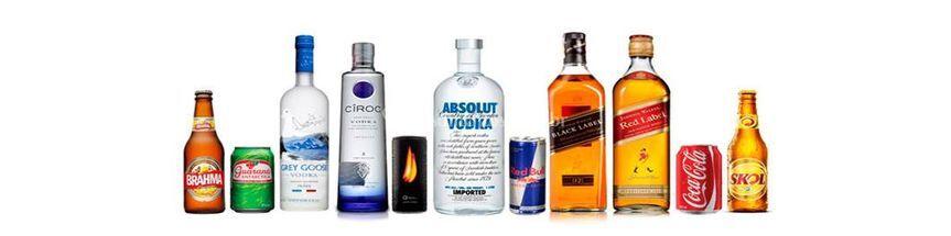 Bebidas Alcoolicas- Opcionais
