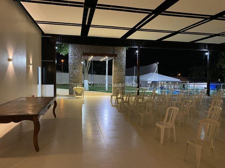 Salão moderno