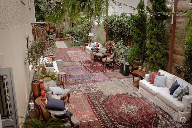 Lounges e tapeçaria