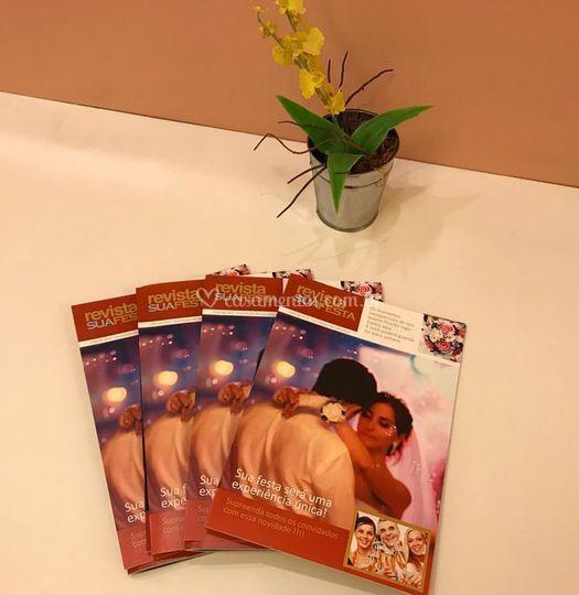 Revista impressa da sua festa