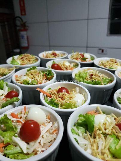 Saladinhas - finger food