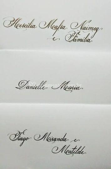 Vários convites