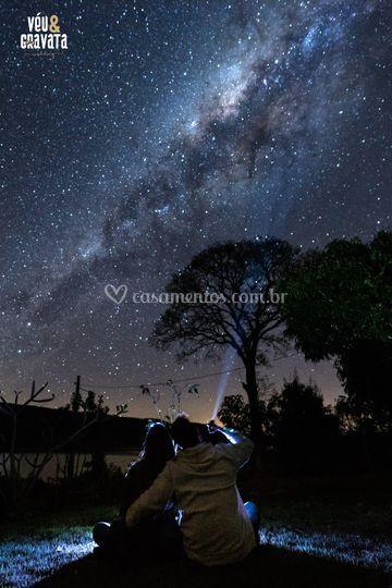 Ensaio Amor Sob as Estrelas