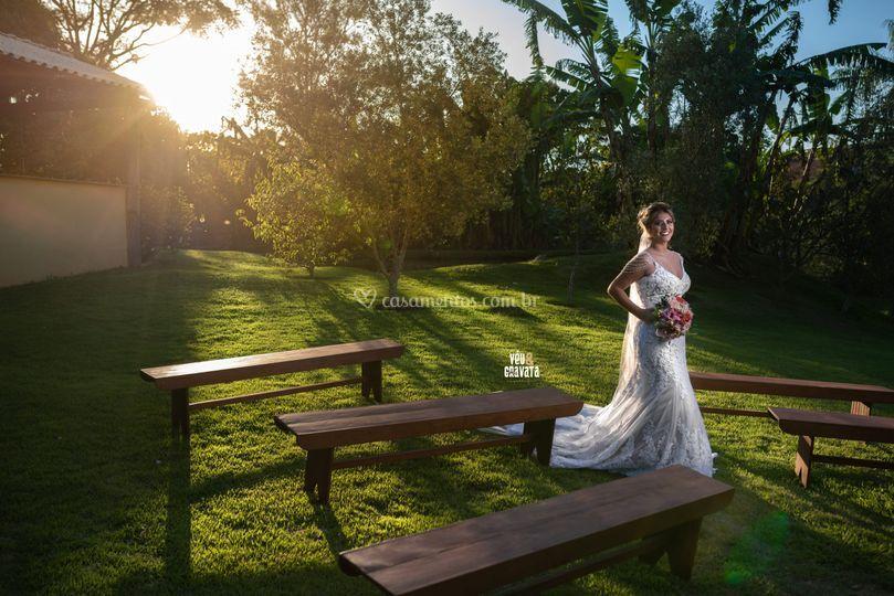 Noiva Helena, fim de cerimonia