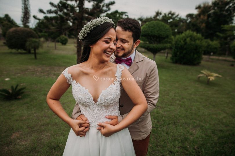 Enfim casados!