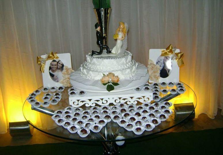 Variedade de bolos