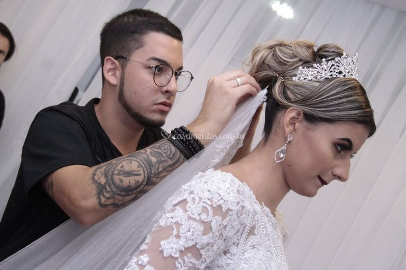 Finalização de noiva