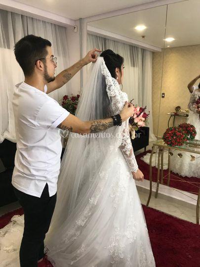 Finalização da noiva