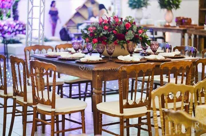 Mesas de convidados