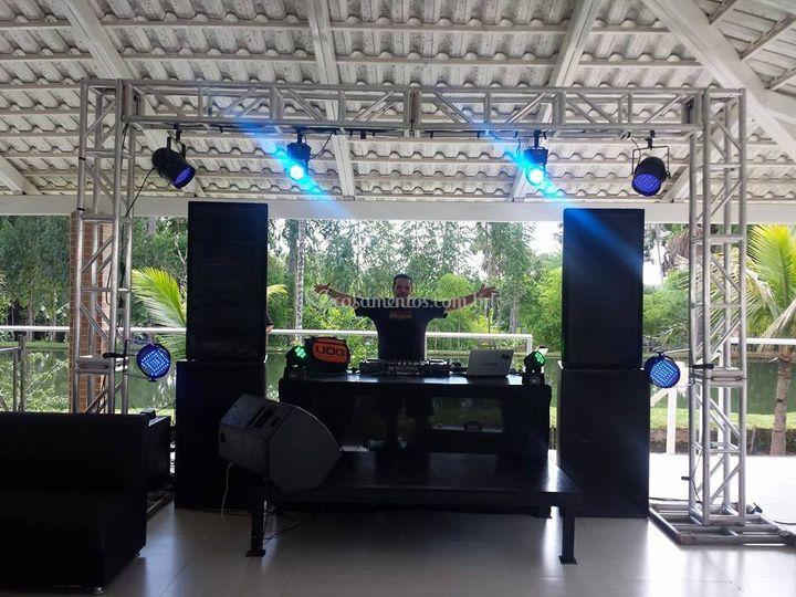 Contamos com os melhores DJ's