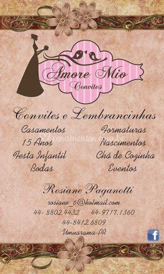 Convites e Lembrancinhas