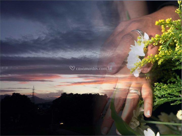 Casamento com montagem