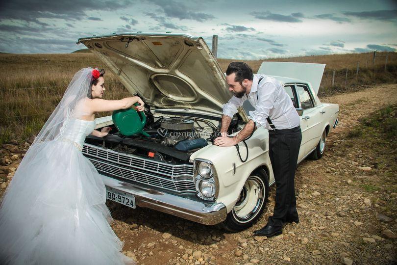 Carro casamento