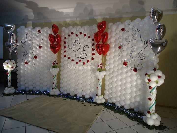 Balões Arte e Festa -> Decoração Balões Casamento