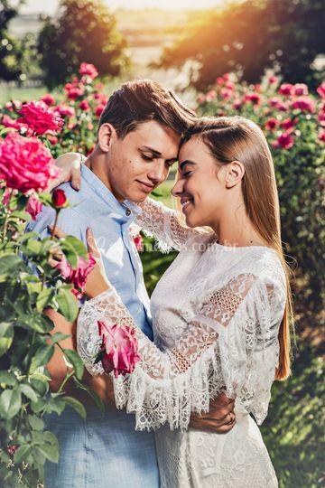 Ensaio Pré-Wedding - Holambra