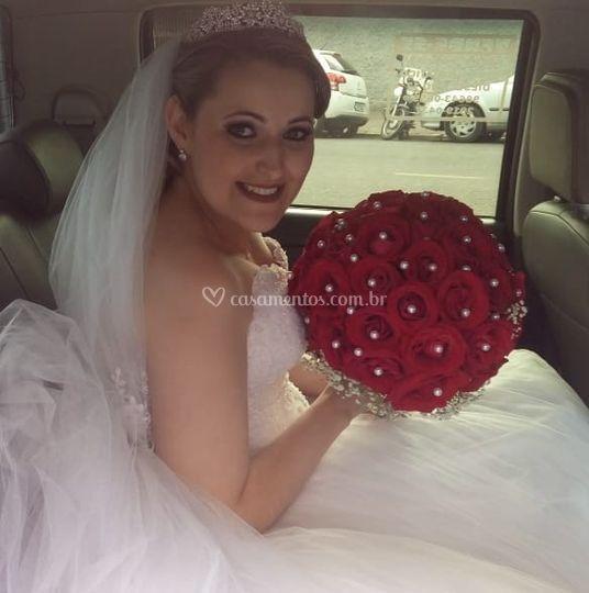 Nossa linda noiva roberta