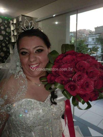 Nossa linda noiva mayara