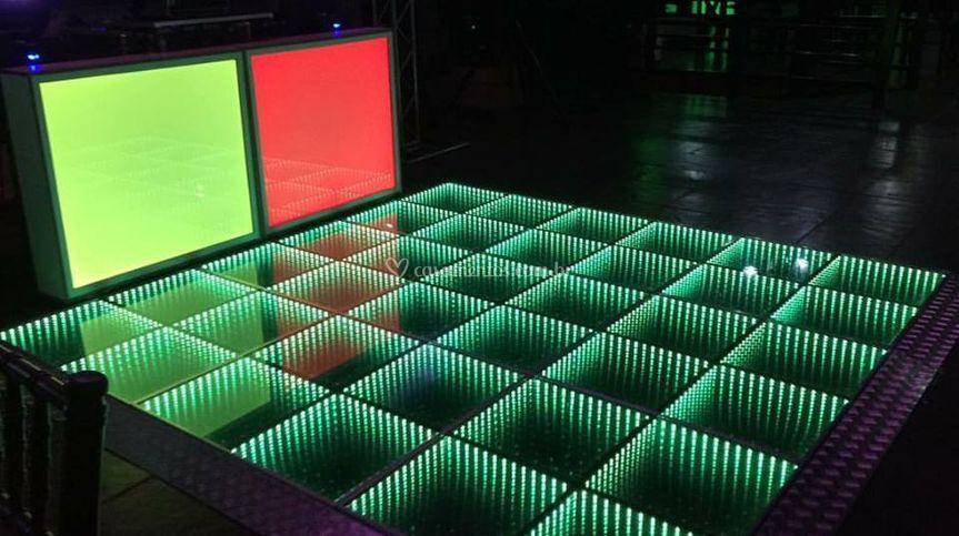 Pista LED infinity