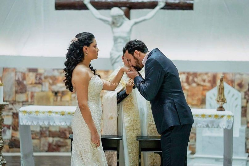 Noivos Fernanda e Jaime