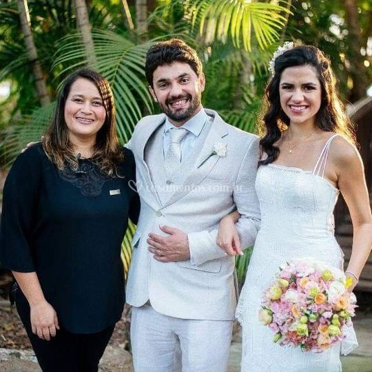 Noivos Camila e Rodolpho
